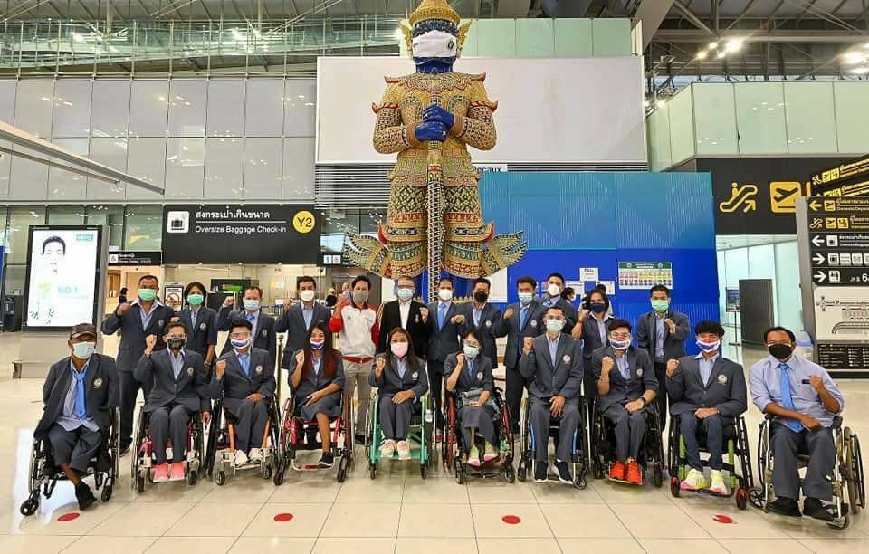 รุ่งโรจน์-สายสุนีย์ นำทัพพาราลิมปิกไทยชุดแรก บินลัดฟ้า สู้ศึกโตเกียวเกมส์ 2020